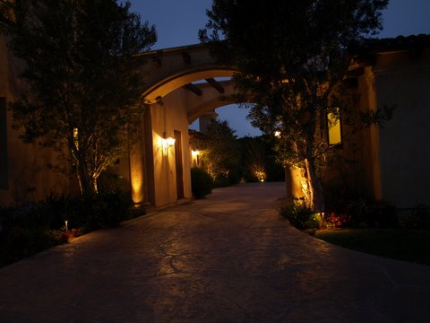 Landscape Lighting Oak Park Modern Landscape  Lighting